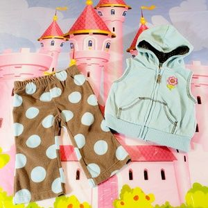 Carter's Baby Girl Outfit Size 6m